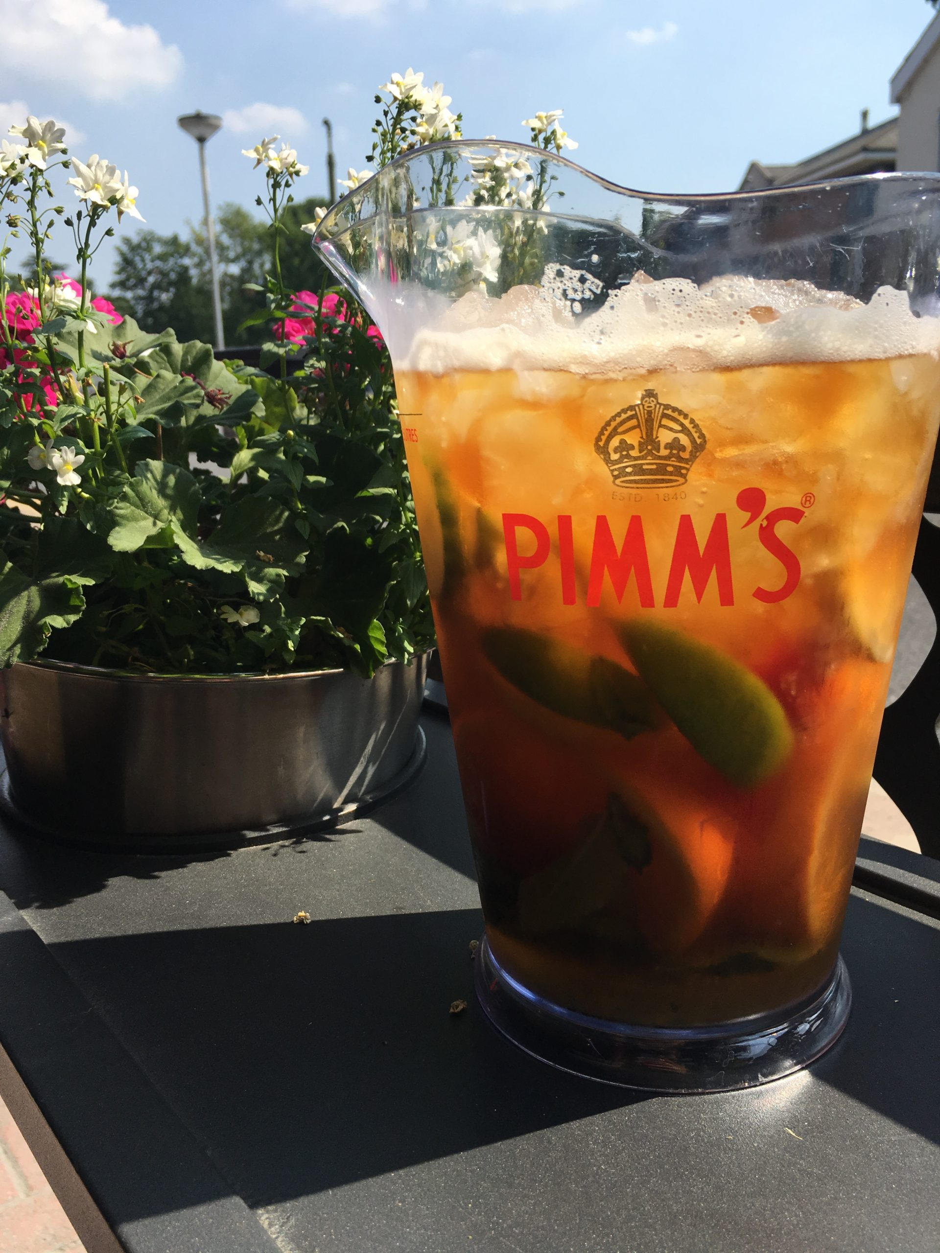 ENJOY OUR PIMMS SELECTION THIS SUMMER