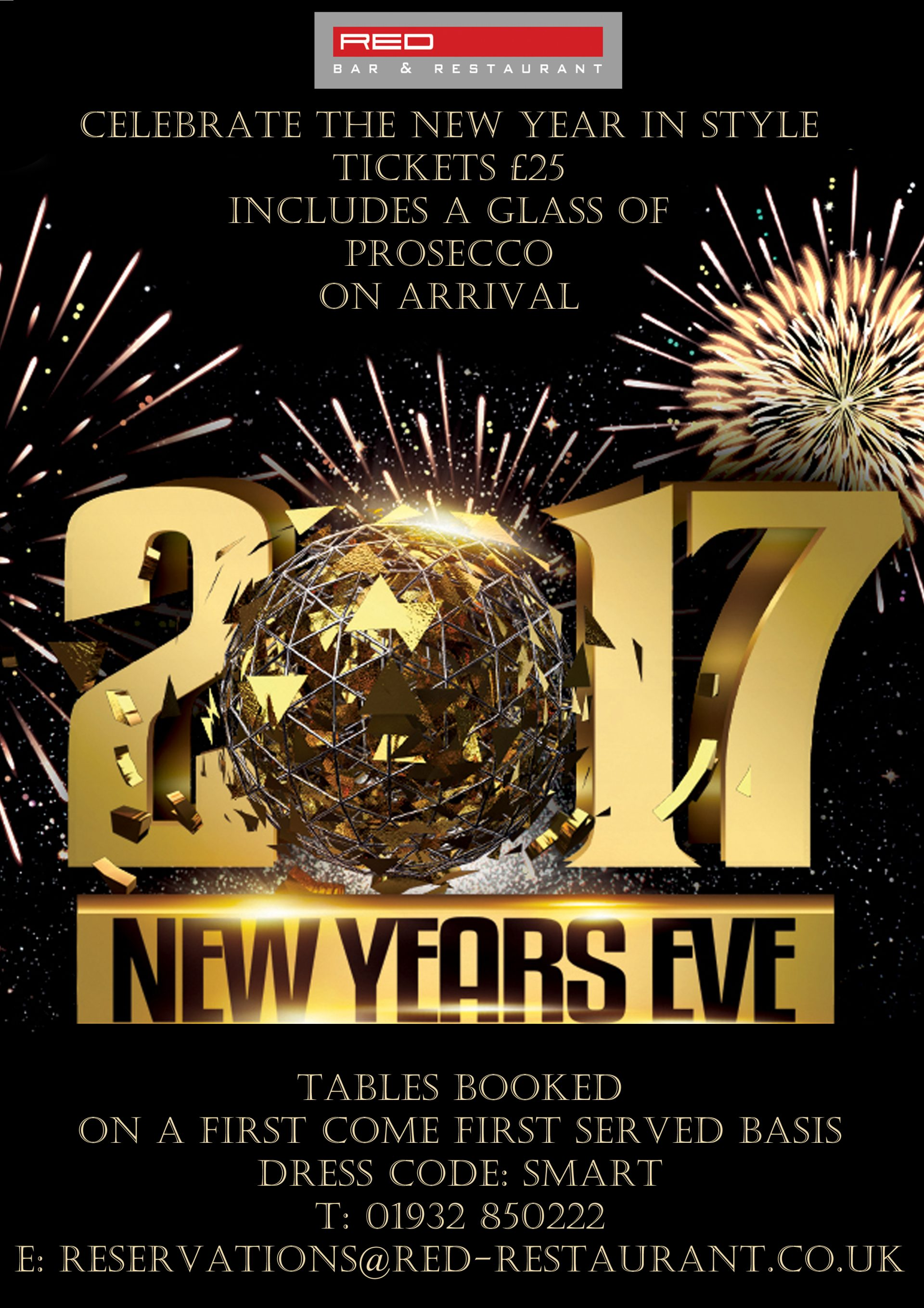 CELEBRATE NEW YEARS EVE 2017